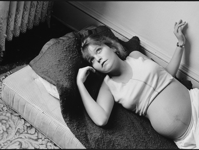De prostituta adolescente a madre de diez hijos: Tiny, la 'Boyhood' de la fotografía