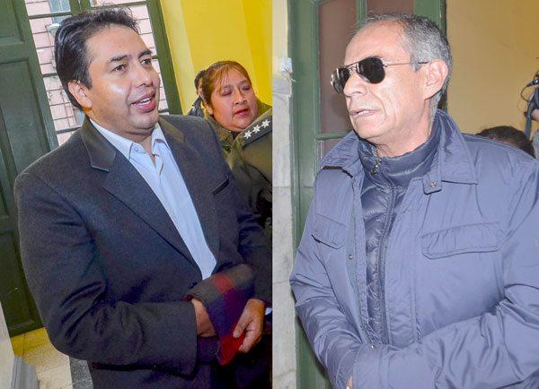 Milton Mendoza y Fernando Ganam serán investigados por otras denuncias.