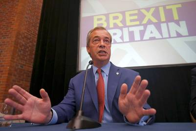 Nigel Farage, el líder de UKIP. / Reuters - NEIL HALL