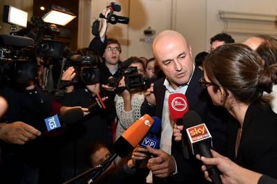 El periodista italiano Gianluigi Nuzzi, involucrado en el escándalo del Vatileaks. AFP