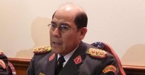 El excomandante general del Ejército, Gral. Fernando Zeballos