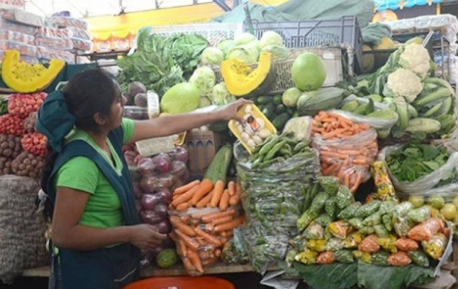 INE registra deflación de 0,48% en productos de la canasta familiar en junio