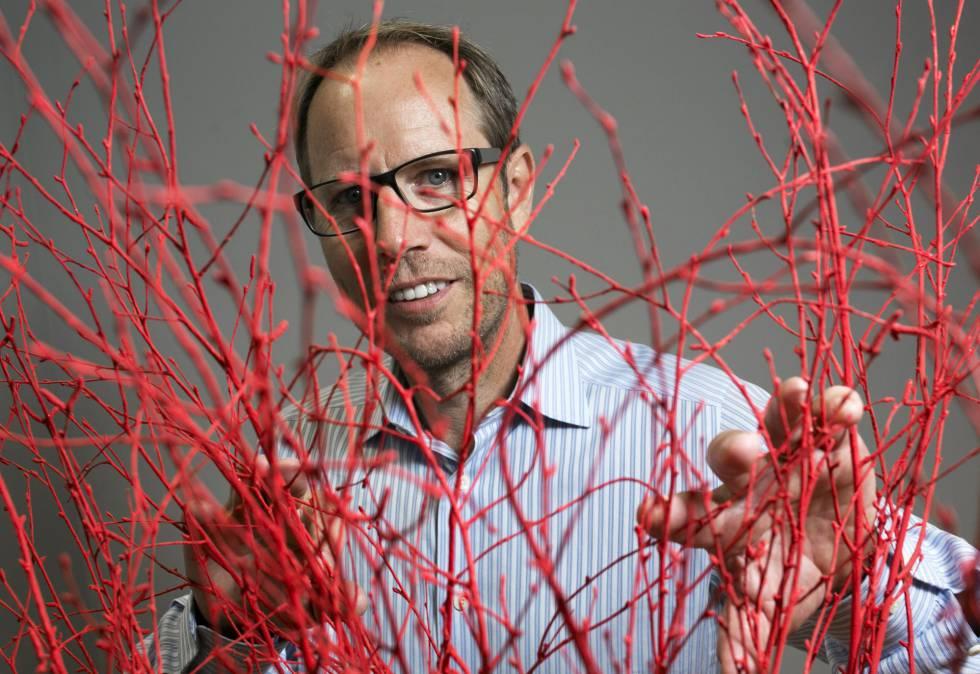 El neurólogo Tony Wyss-Coray, después de la entrevista