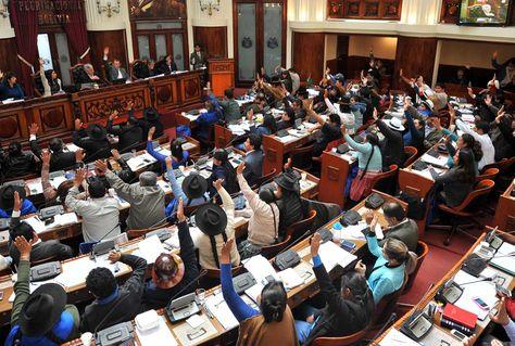 Una sesión de la Asamblea Legislativa. Foto. Wara Vargas