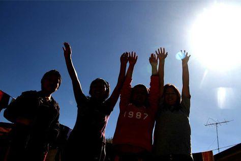 Adolescentes féminas. Foto: La Razón