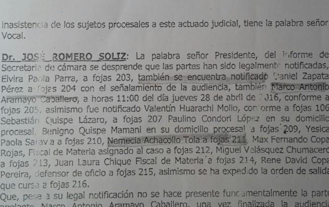 Juez convocó a Nemesia Achacollo por caso Fondo Indígena y ella no asistió