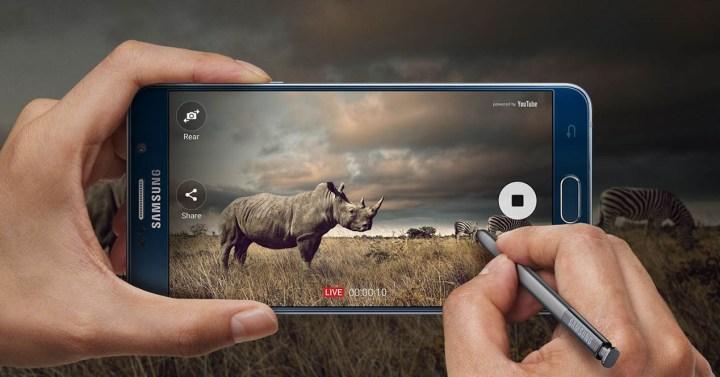 Samsung Galaxy Note 5 pantalla