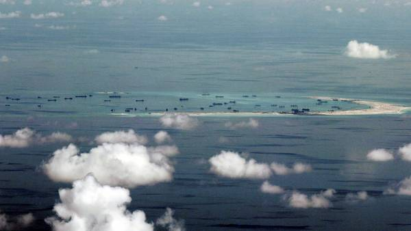 En disputa. Las islas Spratly, en el eje de la disputa marítima entre Filipinas y China. /AFP