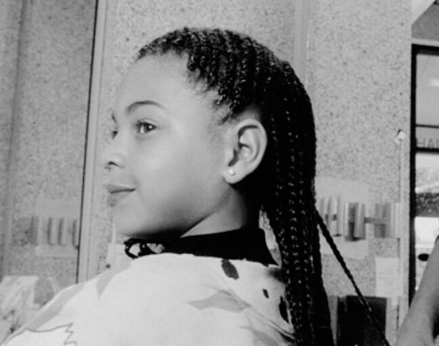 Beyoncé, en una foto de infancia.