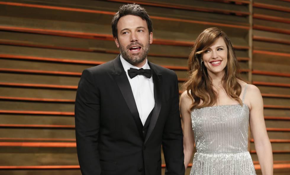 Los actores Ben Affleck y Jennifer Garner.