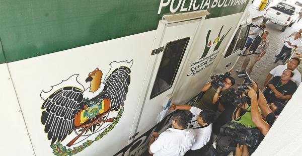 El motorizado está precintado por la Fiscalía en la Secretaría de Seguridad Ciudadana