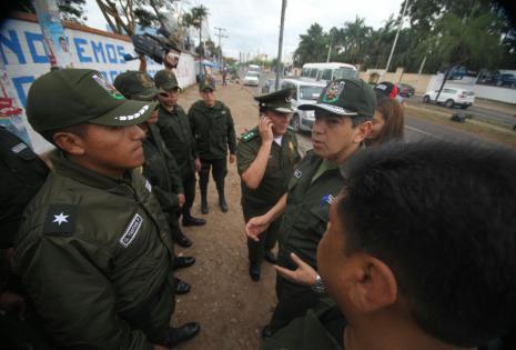 Hay custodia policial en la Uagrm