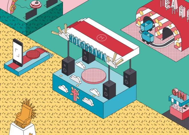 ¿Tocarán músicos muertos en los festivales del futuro?