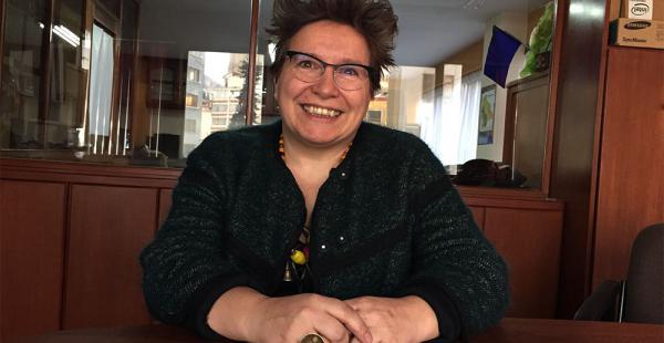Susana Ruiz llegó para investigar el caso papeles de Panamá, que implica a varios bolivianos