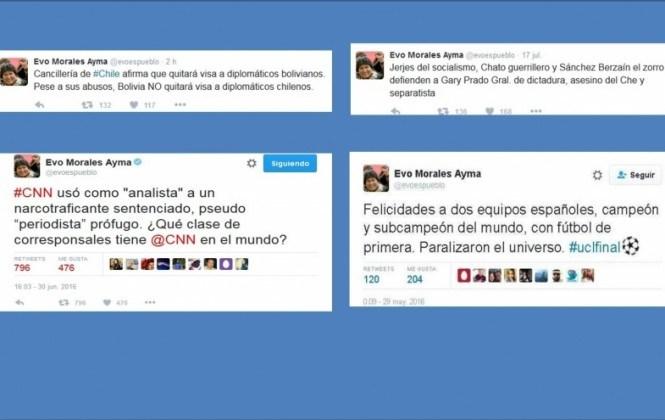 Al menos cuatro tuits del Presidente contienen información errónea