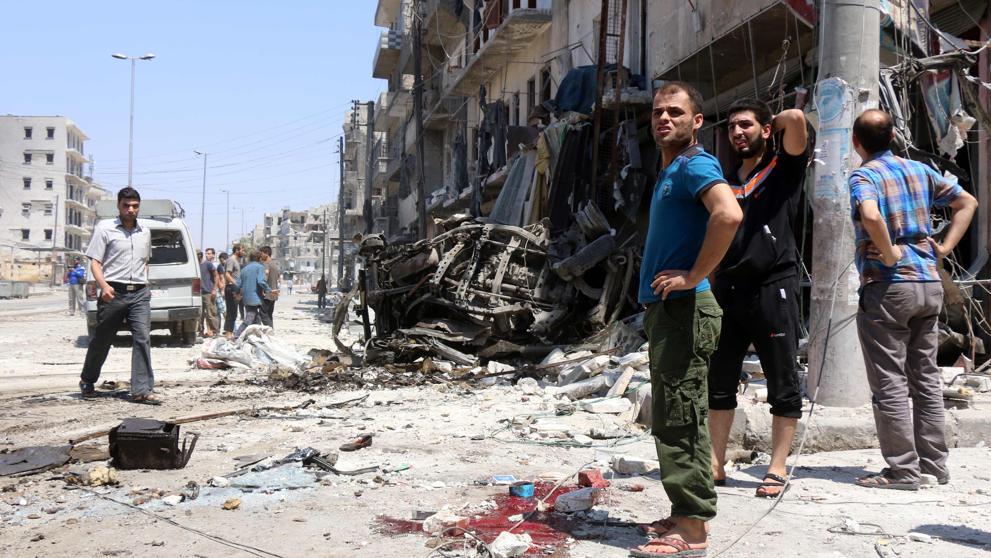Mueren 38 combatientes del régimen sirio por una explosión en un túnel de Alepo