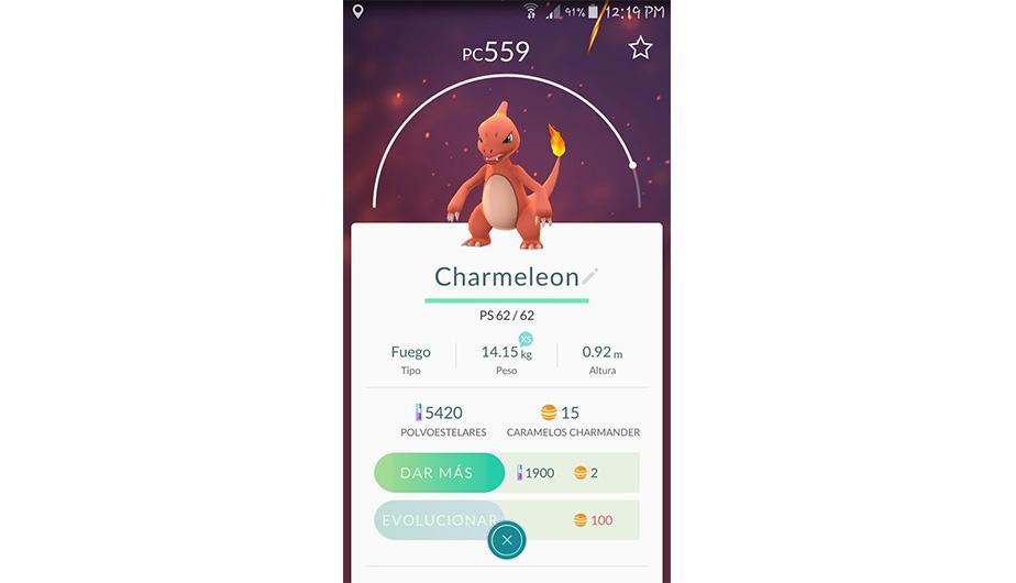 Charmeleon es otro tipo de Pokémon que cuesta evolucionarlo. (Foto: Nintendo)
