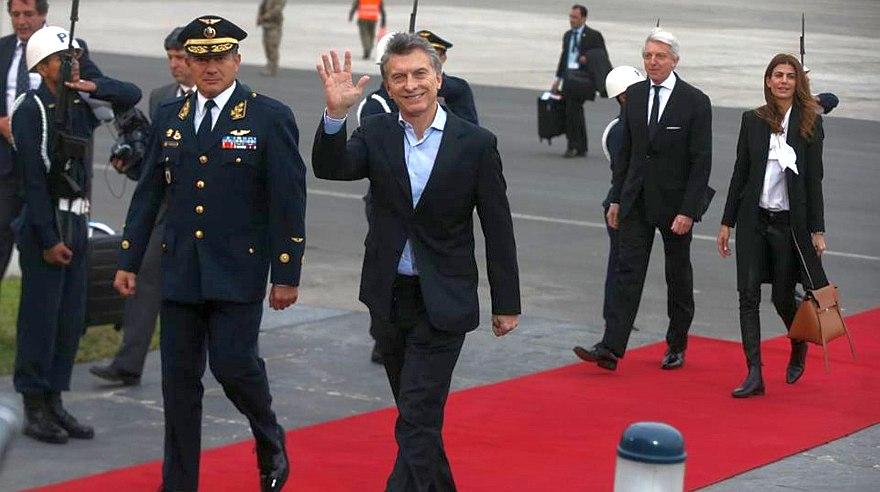 Mandatarios arribaron a Lima para la asunción de mando de PPK