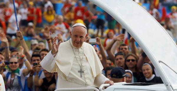 El papa Francisco celebró este domingo una multitudinaria misa en el cierre de la JMJ 2016