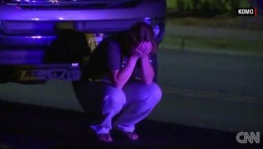 Desespero y dolor tras la muerte a tiros de tres jóvenes en una fiesta celebrada en un pueblo del estado de Washington. (Crédito: KOMO/CNN).