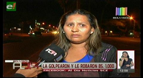 Mujer denuncia agresión y robo por parte de sus familiares