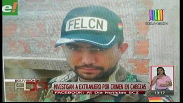 Investigan a extranjero por crimen en Cabezas