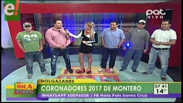 Holgazanes coronadores del carnaval montereño 2017