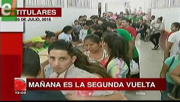 Titulares de TV: Mañana elegirán directores y decanos de la Uagrm