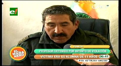 Cochabamba: Aprehenden a profesor por toques impúdicos a niñas