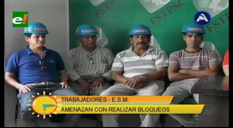 Trabajadores de la ESM están en paro por impago de salario