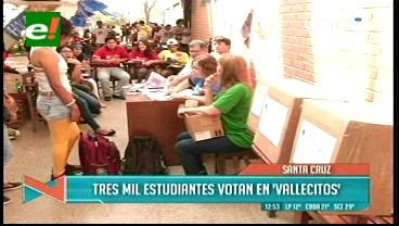 Elecciones en la Uagrm: En el Norte votan con retraso, pero sin líos