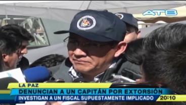Caso Consorcio: Teniente denunció que un capitán le pidió $us 10 mil para no detenerla