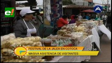Cotoca convirtió el Festival de la Jalea en fiesta popular
