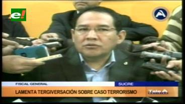 Fiscal Guerrero asegura que se tergiversó el tema del general Prado y el caso terrorismo