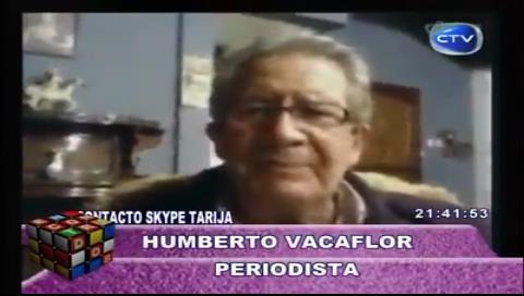 Por una videoconferencia Evo enjuicia a periodista Vacaflor que 'habló' de un asesinato en Chapare