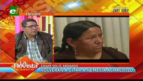 Achacollo respaldó su declaración con documentos del Fondo Indígena