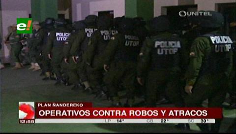 Policía activa el Plan Ñandereko en Santa Cruz