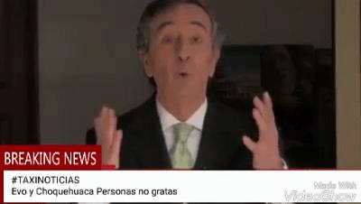 Un periodista chileno hace viral un polémico video