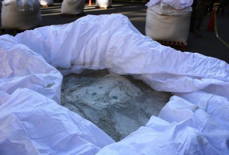 Aquí estaba camuflada la cocaína de alta pureza