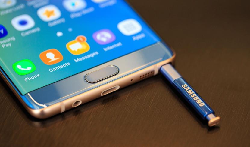 S Pen y Galaxy Note 7
