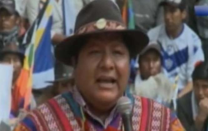 Dirigente afín al Gobierno reprocha a ministros por no atender a las organizaciones sociales