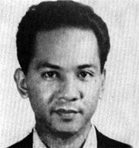 "Freddy Maymura Hurtado, guerrillero boliviano de origen nipón que combatió al lado del ""Che"" Guevara. Foto: escritoconsangre1.blogspot.com"
