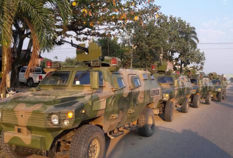Los tanques de las FFAA
