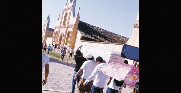 El cuerpo fue llevado hasta la catedral de la capital chiquitana