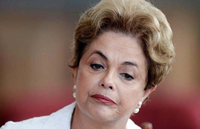 Dilma Rousseff, presidenta suspendida de Brasil (Foto: Reuters)