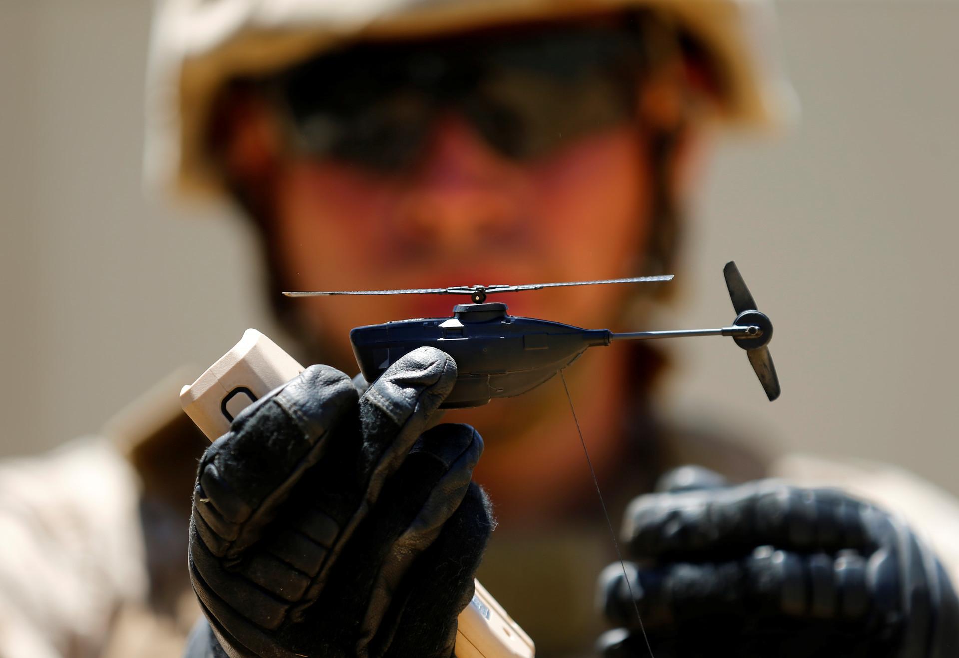 Sistema aéreo no tripulado PD-100 Black Hornet Nano