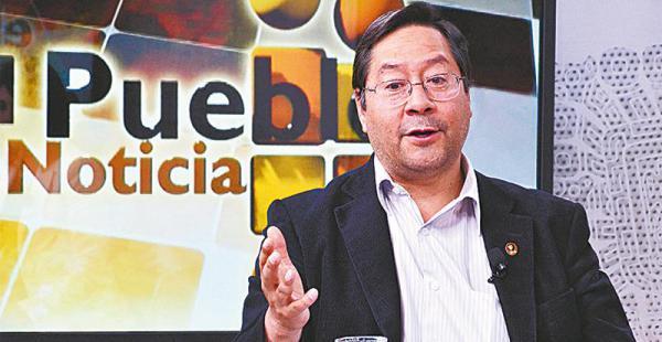 Arce Catacora confirmó ayer el crecimiento económico del país