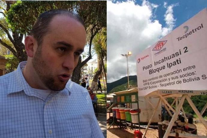 El diputado Horacio Poppe sugiere que Esteban Urquizu vaya a Incahuasi con o sin invitación. Foto: CORREO DEL SUR