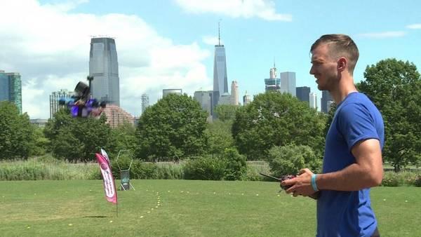 Carrera de drones en NYC