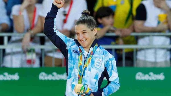 Paula Pareto, campeona olímpica en judo en Río de Janeiro 2016. Foto: Lorena Lucca